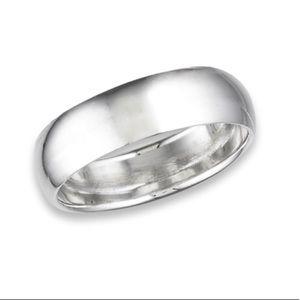 Sterling Silver Gauge Wedding Ring
